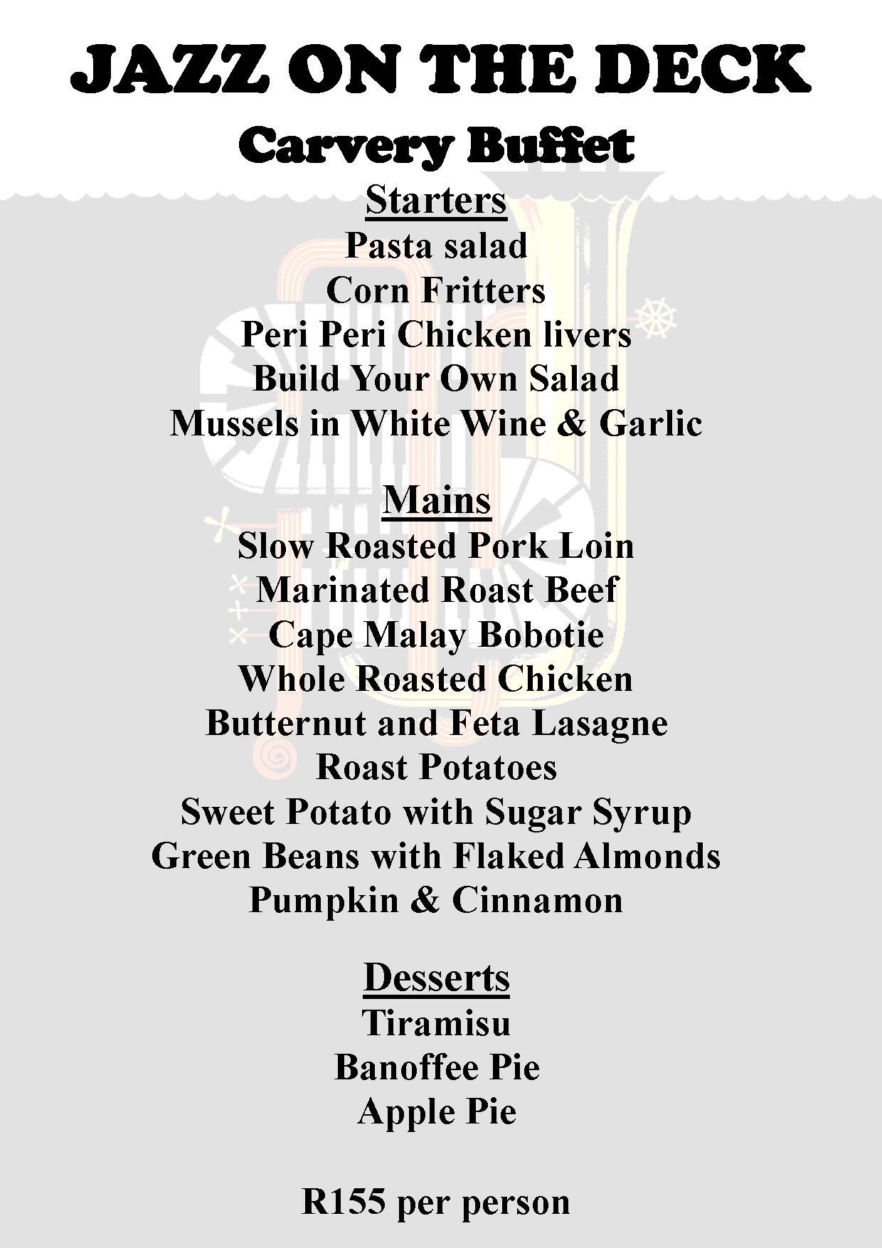 Jazz Feb 16 menu