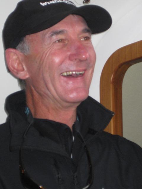Rob Meek at RCYC