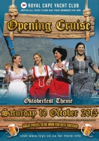 RCYC Opening Cruise 10 Oct