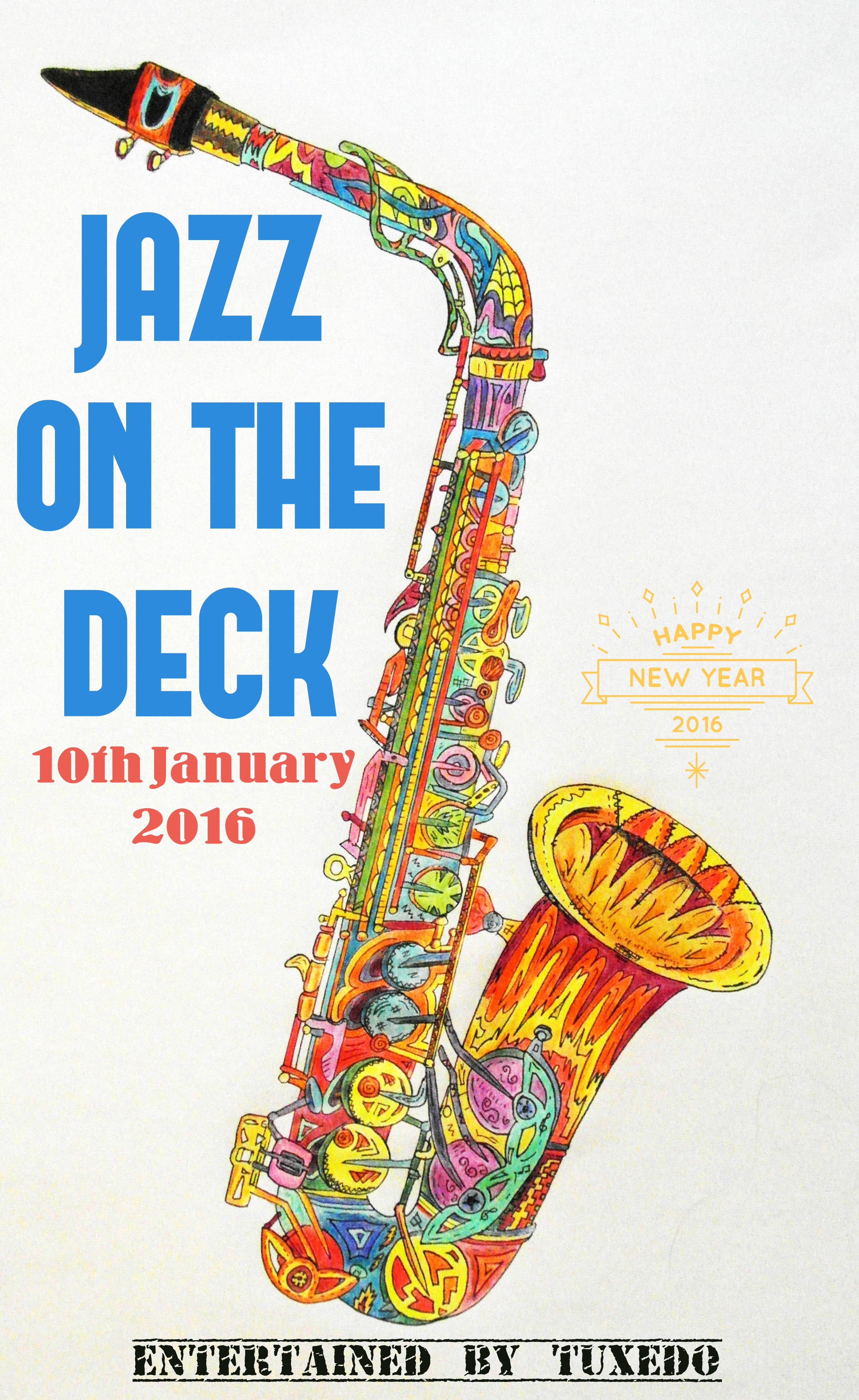 JAZZ ON THE DECK POSTER